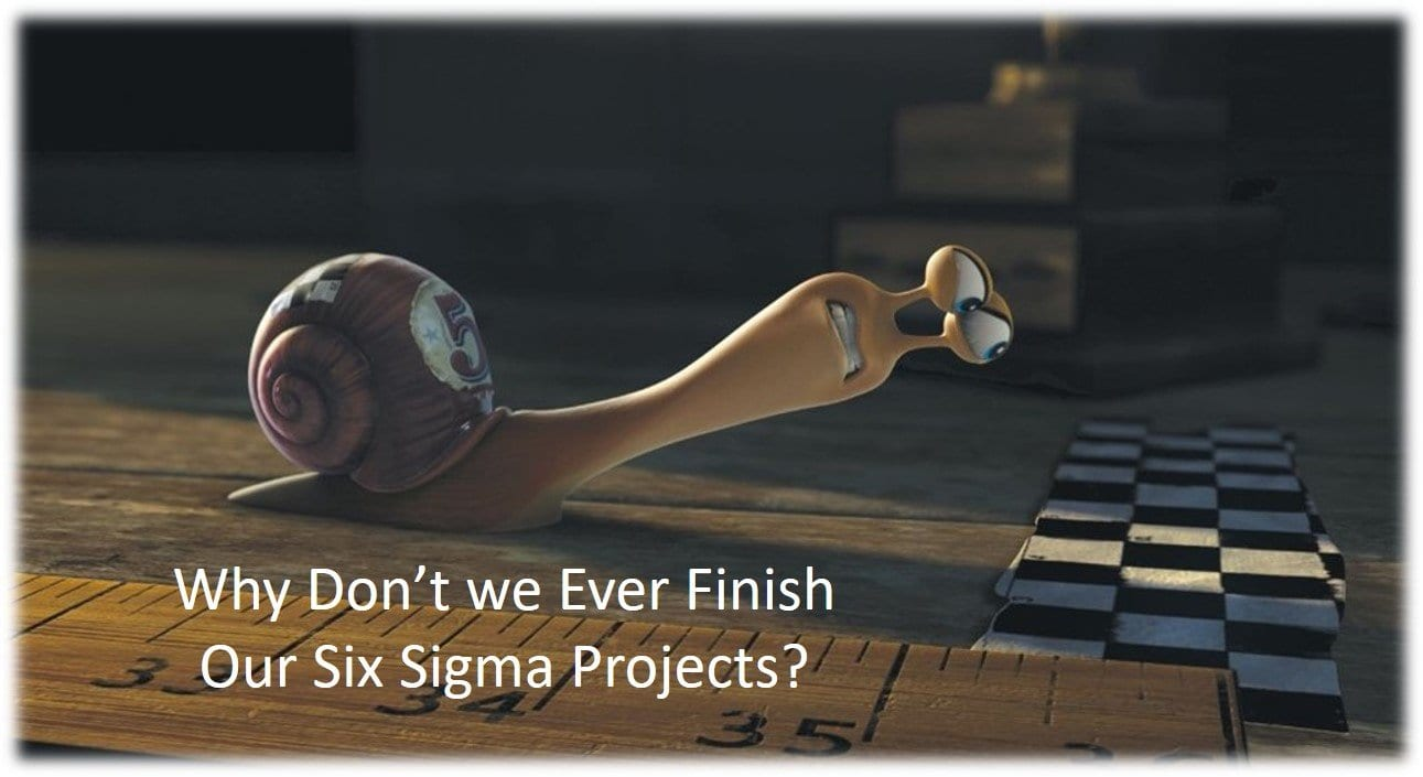 Six Sigma Project Closure and Y=f(X)