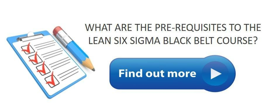 Lean Six Sigma Black Belt Certification Onsite, Online and Public